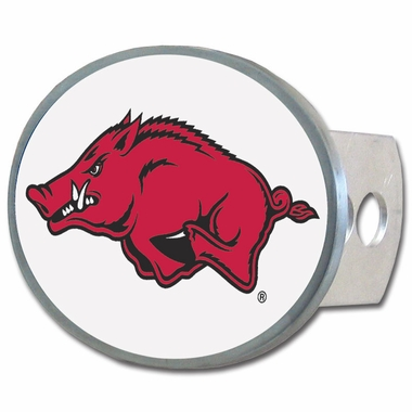 Arkansas Oval Metal Hitch Cover