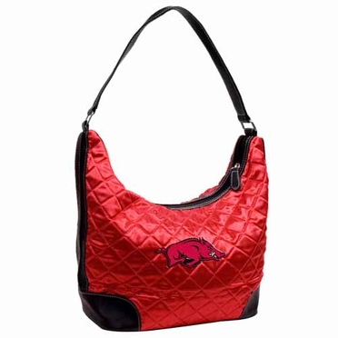 Arkansas Quilted Hobo Purse