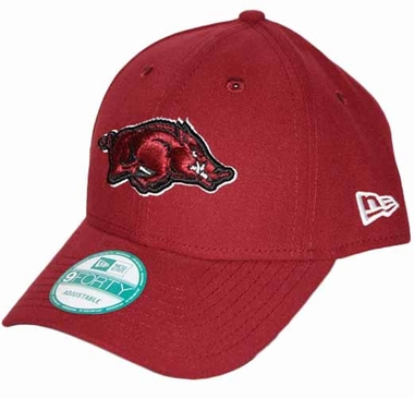 Arkansas Razorbacks 9Forty The League Adjustable Hat