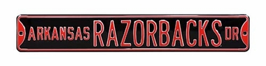 Arkansas Razorbacks Ave Street Sign