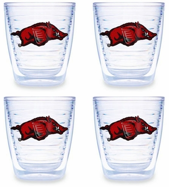 Arkansas Set of FOUR 12 oz. Tervis Tumblers