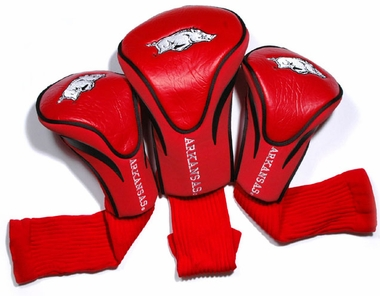 Arkansas Set of Three Contour Headcovers