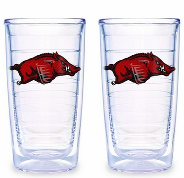 Arkansas Set of TWO 16 oz. Tervis Tumblers