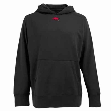 Arkansas Mens Signature Hooded Sweatshirt (Color: Black)