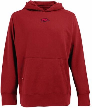 Arkansas Mens Signature Hooded Sweatshirt (Team Color: Red)