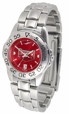 Arkansas Sport Anonized Women's Steel Band Watch