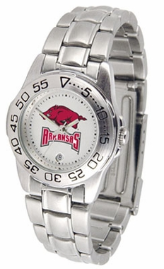 Arkansas Sport Women's Steel Band Watch
