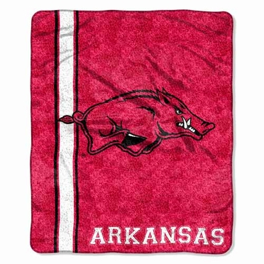 Arkansas Super-Soft Sherpa Blanket