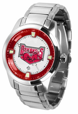 Arkansas Titan Men's Steel Watch