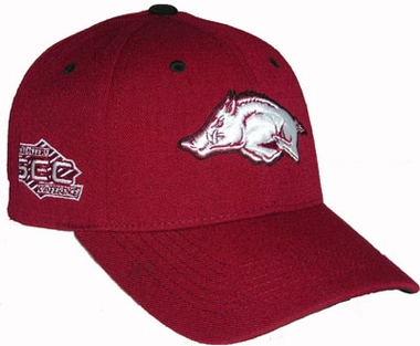 Arkansas Triple Conference Adjustable Hats