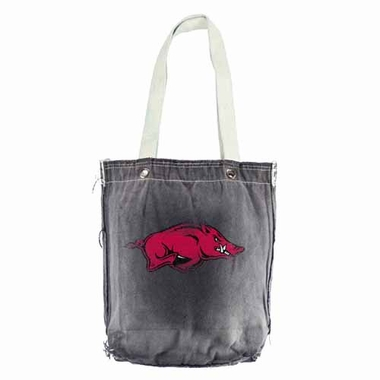 Arkansas Vintage Shopper (Black)