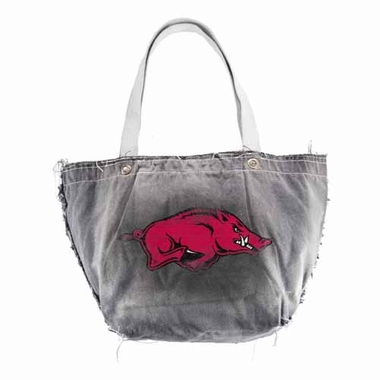 Arkansas Vintage Tote (Black)