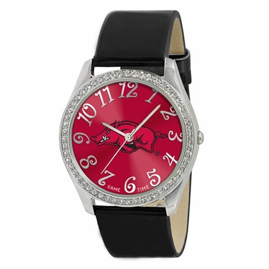 Arkansas Women's Glitz Watch