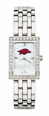 Arkansas Women's Steel Band Allure Watch