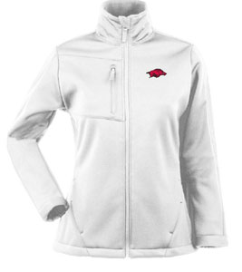 Arkansas Womens Traverse Jacket (Color: White) - Small
