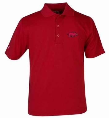 Arkansas YOUTH Unisex Pique Polo Shirt (Team Color: Red)