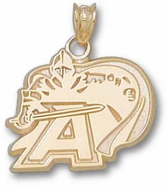 Army 10K Gold Pendant