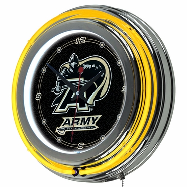 Army 14 Inch Neon Clock