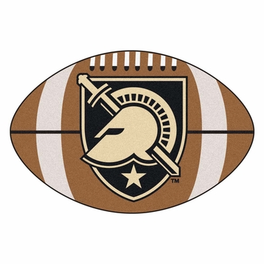 Army Football Shaped Rug