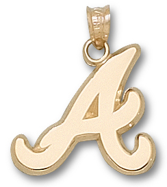 Atlanta Braves 10K Gold Pendant