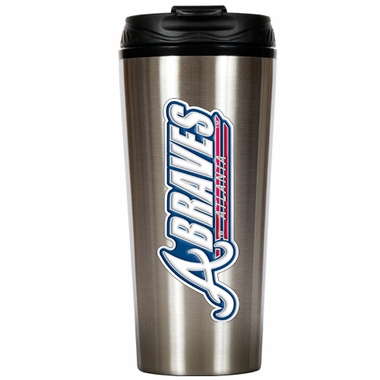 Atlanta Braves 16 oz. Thermo Travel Tumbler
