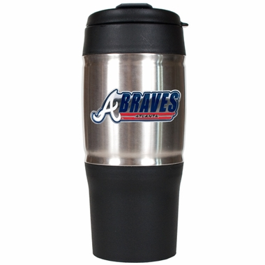 Atlanta Braves 18oz Oversized Travel Tumbler