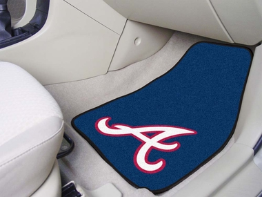 Atlanta Braves 2 Piece Car Mats