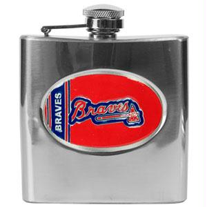 Atlanta Braves 6 oz. Hip Flask