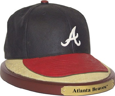 Atlanta Braves Ball Cap Figurine