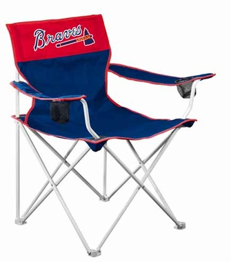 Atlanta Braves Big Boy Adult Folding Logo Chair