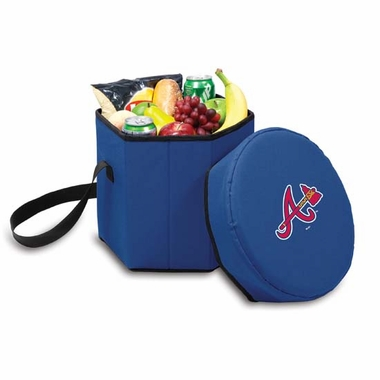 Atlanta Braves Bongo Cooler / Seat (Navy)