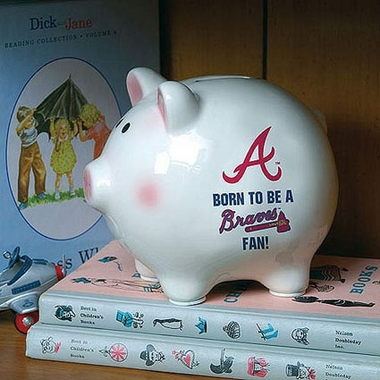 Atlanta Braves (Born to Be) Piggy Bank