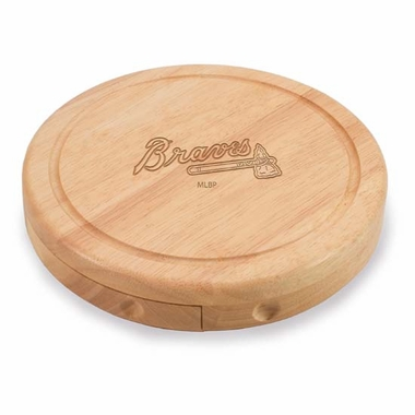 Atlanta Braves Brie Cheese Board