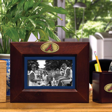 Atlanta Braves BROWN Landscape Picture Frame
