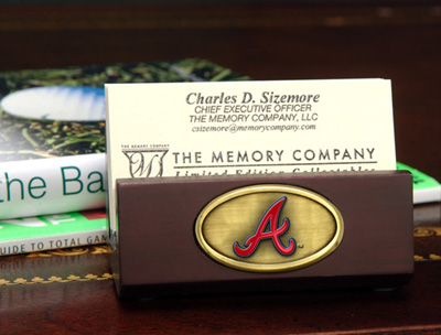 Atlanta Braves Business Card Holder