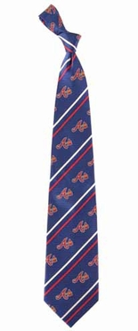 Atlanta Braves Cambridge Woven Silk Necktie