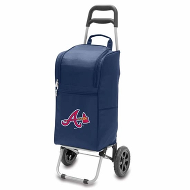 Atlanta Braves Cart Cooler (Navy)