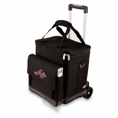 Atlanta Braves Cellar w/ Trolley (Black)