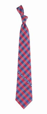 Atlanta Braves Check Poly Necktie