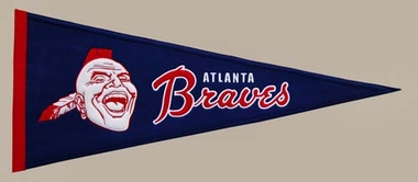 Atlanta Braves Cooperstown Wool Pennant