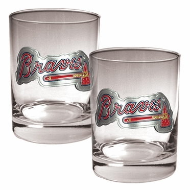 Atlanta Braves Double Rocks Set