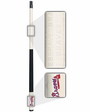 Atlanta Braves Eliminator Pool Cue