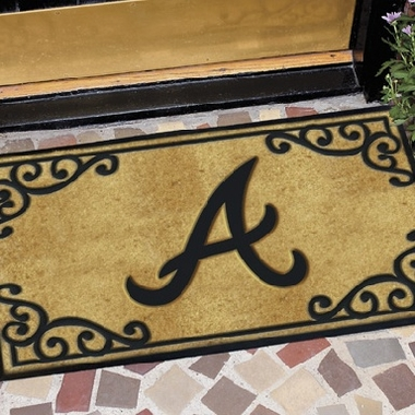 Atlanta Braves Exterior Door Mat