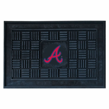 Atlanta Braves Heavy Duty Vinyl Doormat