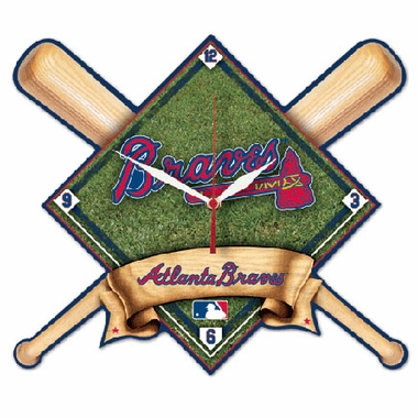 Atlanta Braves High Definition Wall Clock