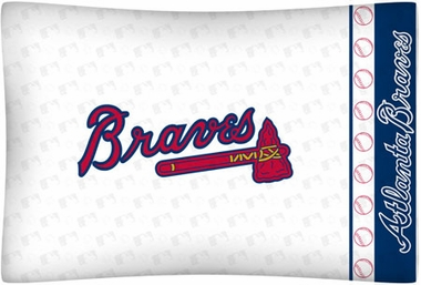 Atlanta Braves Individual Pillowcase