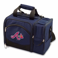 Atlanta Braves Malibu Picnic Cooler (Navy)