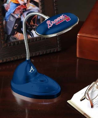 Atlanta Braves Mini LED Desk Lamp