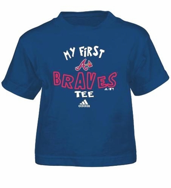 Atlanta Braves My First Tee Toddler Shirt