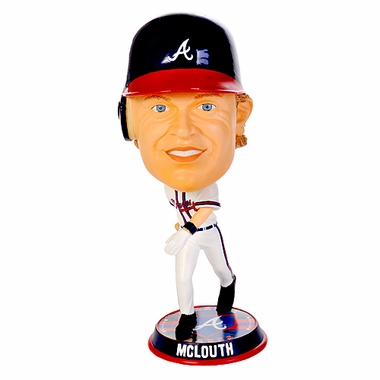 Atlanta Braves Nate McLouth 2010 Big Head Bobblehead